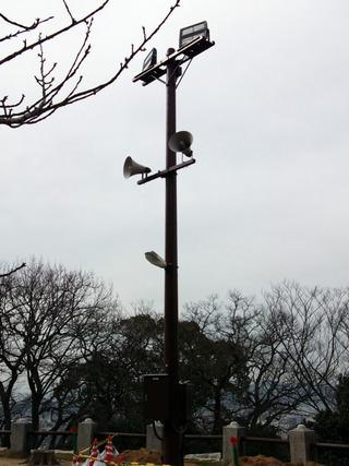 松山城探訪 LED照明編