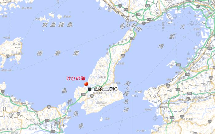地図 けひの海