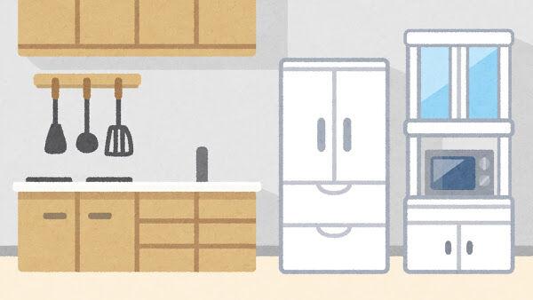 【恐怖】台所で見知らぬ男が勝手に食事しているのを発見→とんでもない展開に・・・・・
