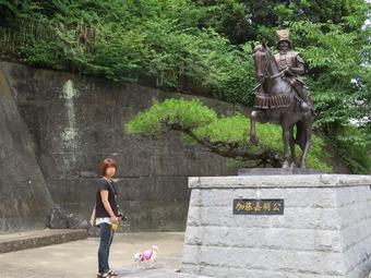 松山城 犬 リフト 1
