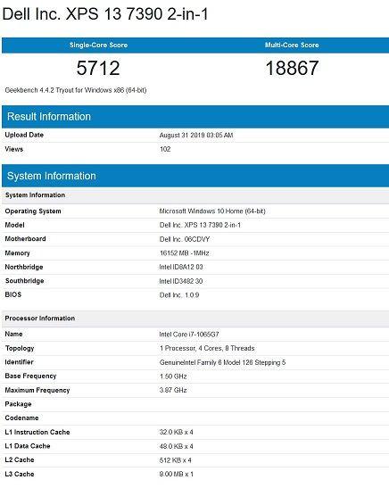 ntel Core i7-1065G7