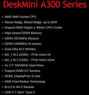 DeskMini A300-spec