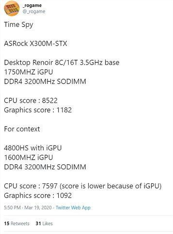 rogame-on-Twitter-Time-Spy-ASRock-X300M-STX-Desktop-Renoir