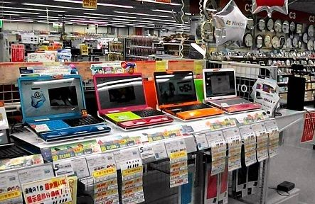 Consumer electronics retail store