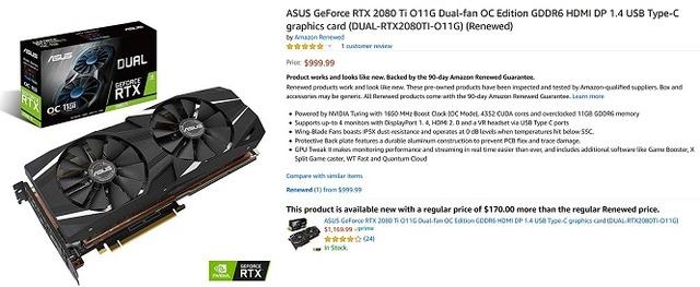 ASUS GeForce RTX 2080 Ti