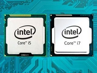 core i7 core i5