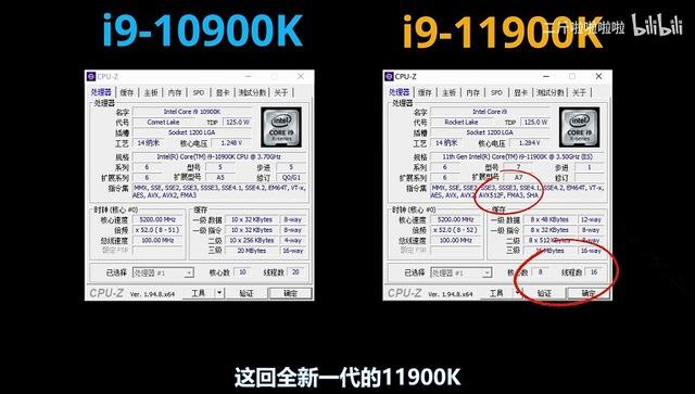 Intel-Core-i9-11900K-CPUZ-Specs
