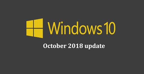 Windows-10-Update-October-2018-update