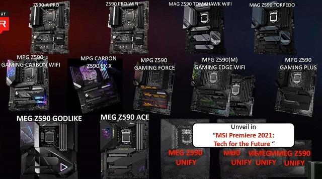 MSI-Z590-Motherboards