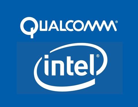 Qualcomm_-intel-logo