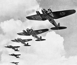 He-111編隊