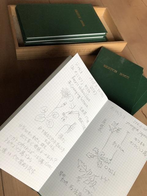 フィールドノート(野帳)