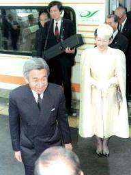 天皇皇后両陛下@1990年11月伊勢市