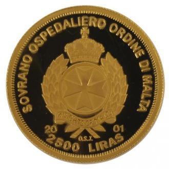 マルタ騎士団政庁公式発行昭和天皇御誕生100周年記念金貨2