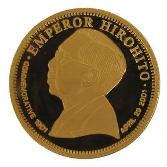 マルタ騎士団政庁公式発行昭和天皇御誕生100周年記念金貨