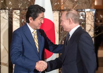 安倍総理&プーチン大統領