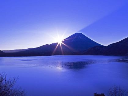 紫の富士@神