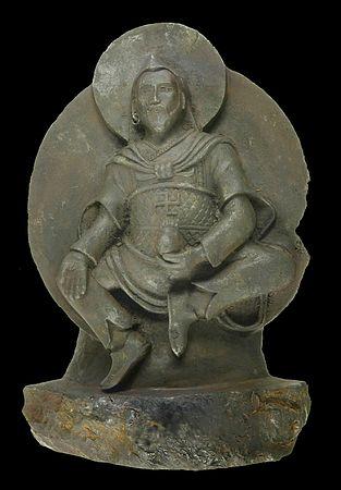 隕石の仏像