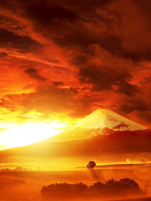 富士山の黄金