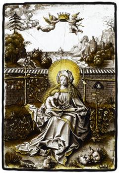 うさぎの聖母子