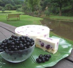 ブルーベリレアチーズ
