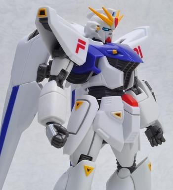 ROBOT魂 -ロボット魂-〈SIDE MS〉ガンダムF91[バンダイ]