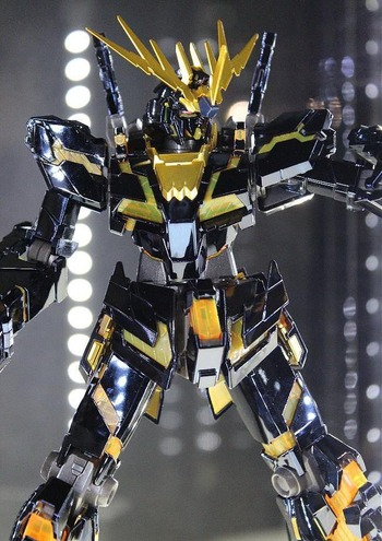 RX-0 ユニコーンガンダム2号機 バンシィ チタニウムフィニッシュVer.