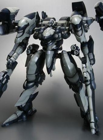 アーマード・コア インテリオル Y01-TELLUS プラスチックキット