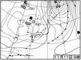 天気図1117