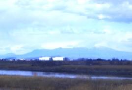 利根川と赤城山