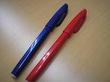 赤と青のペン