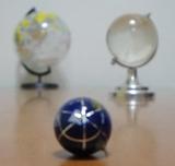地球儀×3