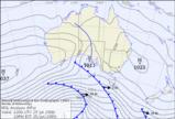 オーストラリア天気図