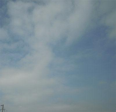 今日の雲400