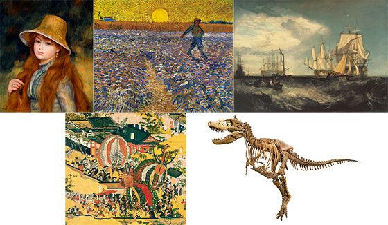 ルノワール、ゴッホ、ターナーの名画から、京都の伝統文化、恐竜まで!? 芸術の秋に鑑賞したいオススメ展覧会はコレだ!【プレゼントあり♪】