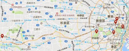 東京5社めぐり