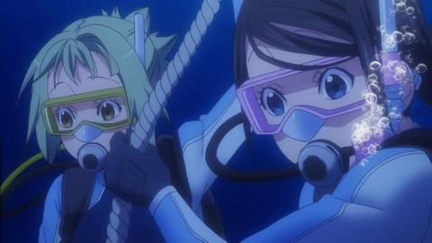 あまんちゅ! 第12話(最終回) 感想:てこちゃん資格ゲット!ダイビング楽しそう