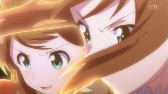バトルガールハイスクール 第7話 感想:謎の光も神樹の力?友達の声援が熱かった!