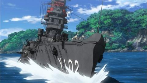 ハイスクール・フリート 第8話「比叡でピンチ!」感想:お見事、こういう頭脳戦が見たかった!