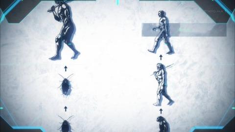 テラフォーマーズリベンジ 第1話「2ND GENERATION ~特別な二人~」感想:突然変異で進化w