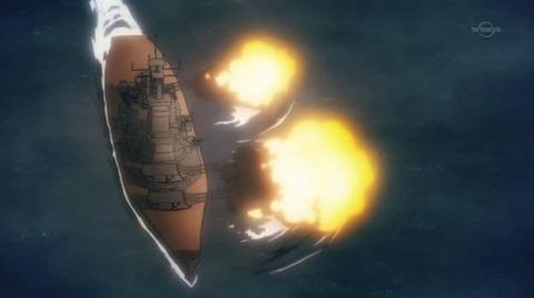 シュヴァルツェスマーケン 第4話 感想:艦これっぽい