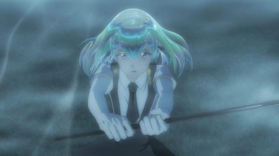 宝石の国 第10話 感想:進撃の月人が怖くてハラハラ!ダイヤ兄ちゃん流石に強い!