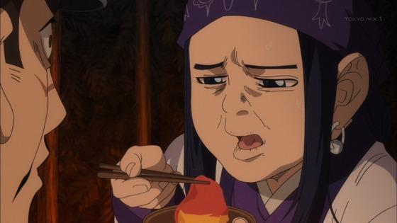 ゴールデンカムイ 第5話 感想:アシリパさんお味噌を克服なるか!普段美少女だけにすごい顔!