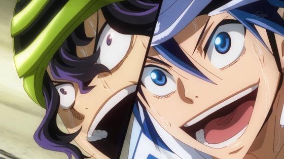 弱虫ペダル NEW GENERATION 第24話 感想:残り400mで奇跡のアクシデント!まだ勝負はわからない!