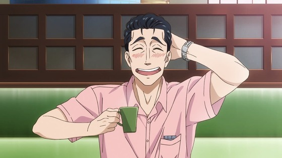 恋は雨上がりのように 第2話 感想:珈琲こぼして焦ってるし本心に気付いていたりして!