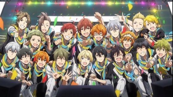アイドルマスター SideM 第13話(最終回) 感想:メンバー多いけど前職とかあり覚えやすかった!
