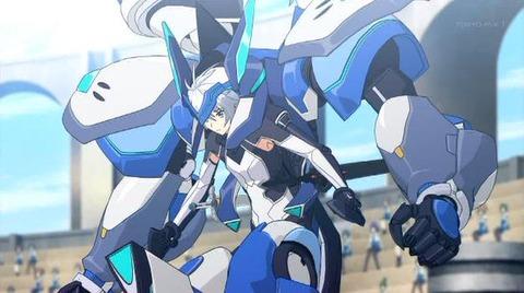 最弱無敗の神装機竜 第1話「朱の戦姫」感想:いわゆる様式美?