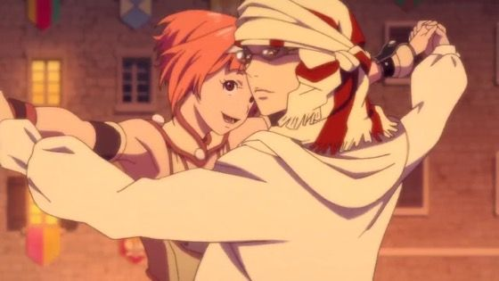 神撃のバハムート VIRGIN SOUL 第6話 感想:ダンスがぬるぬるでディズニーみたい!