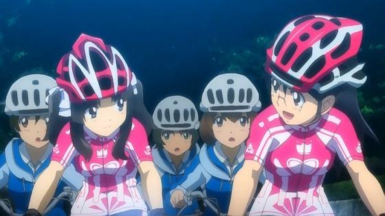 南鎌倉高校女子自転車部 第7話 感想:味方の屍を乗り越えていくみたいで熱かった!