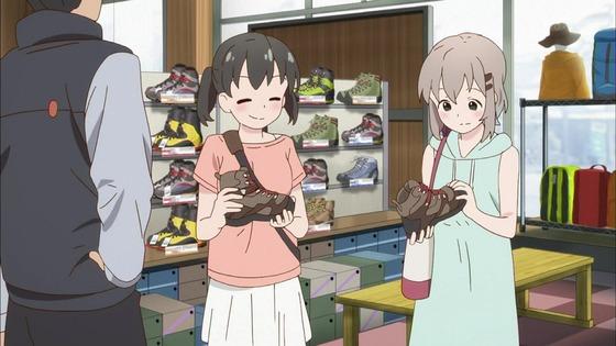 ヤマノススメ サードシーズン 第2話 感想:山装備揃ってない学生に4万の靴は高すぎる!